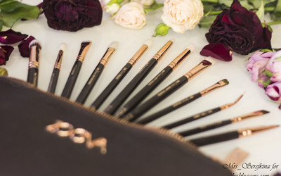 Zoeva Rose Golden: Complete Eye Set Vol. 1 & single brushes Vol.2