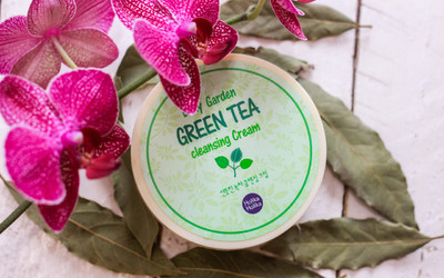 Крем для умывания Holika Holika Daily Garden Green Tea Cleansing Cream