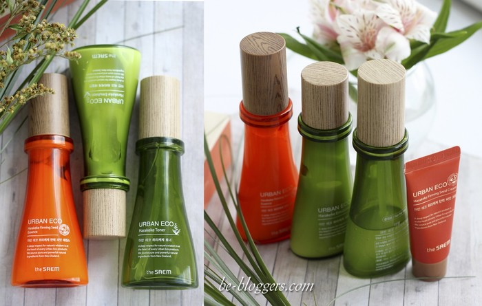 The Saem Harakeke Toner, Emulsion, Essence, Cream