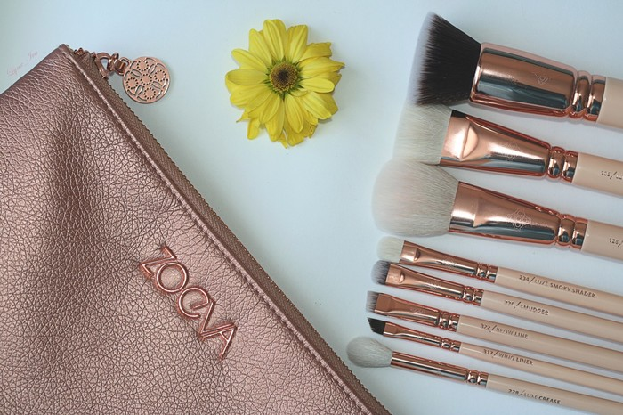 Набор кистей Zoeva Rose Golden Luxury Set Vol.2