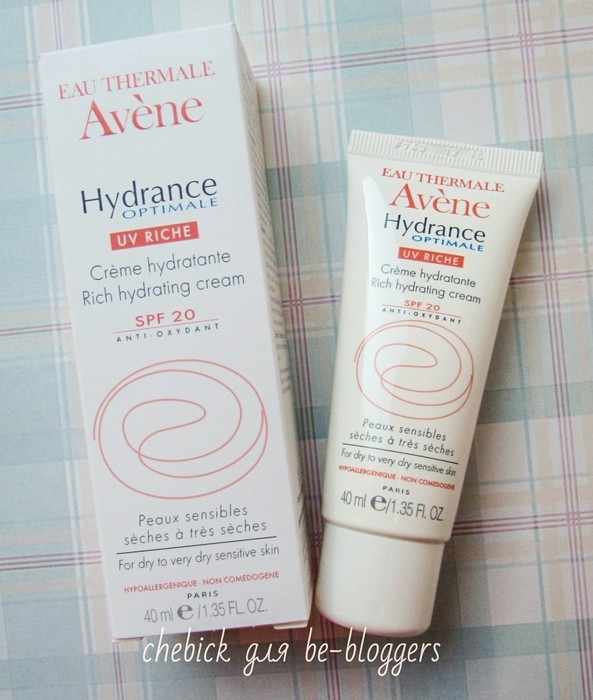Avene Hydrance Optimale Uv Riche SPF20 1