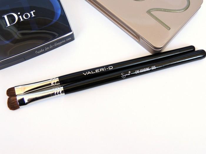 сравнение Valeri D 10m 722ko i Sigma Eye shading brush E55, отзыв, Валери-Д