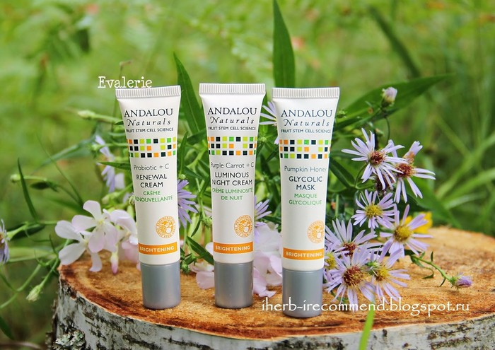 Andalou Naturals Get Started Brightening, Skin Care Essentials, 5 Piece Kit, обзор