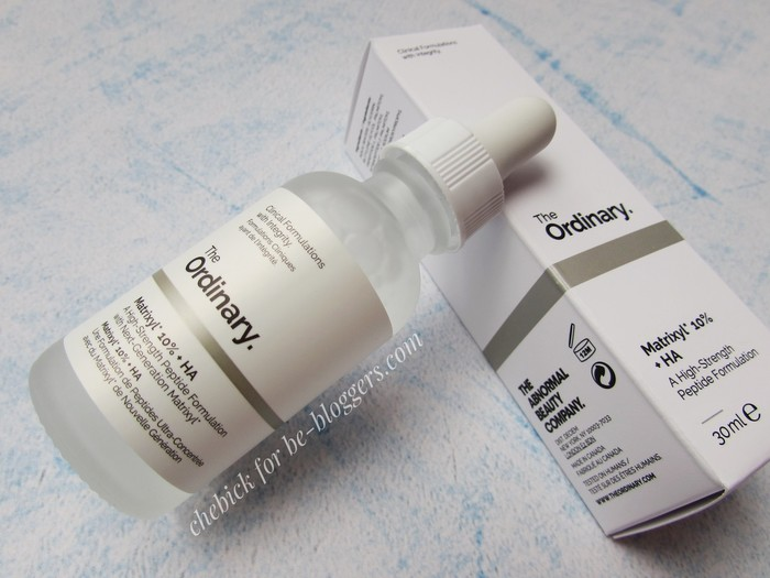 Matrixyl 10% The Ordinary, отзыв