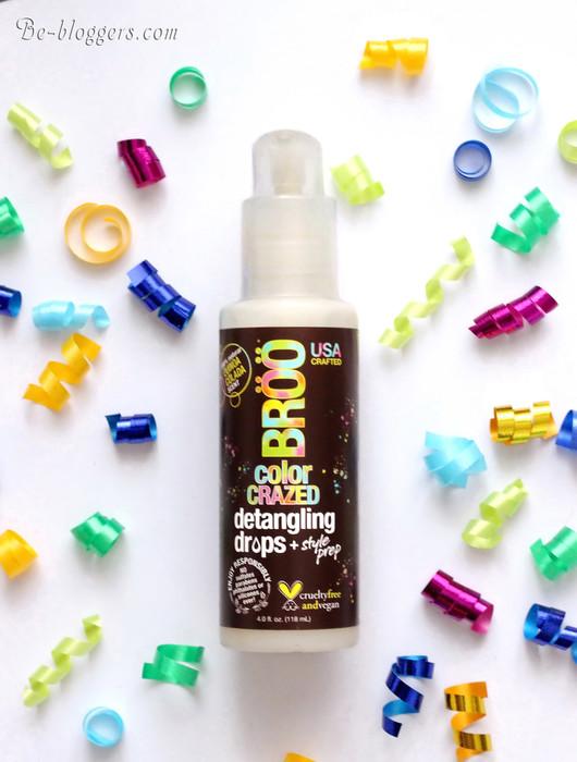 BRöö, Color Crazed Detangling Drops, Quinoa Colada, средство для облегчения расчесывания Киноа Колада, отзыв