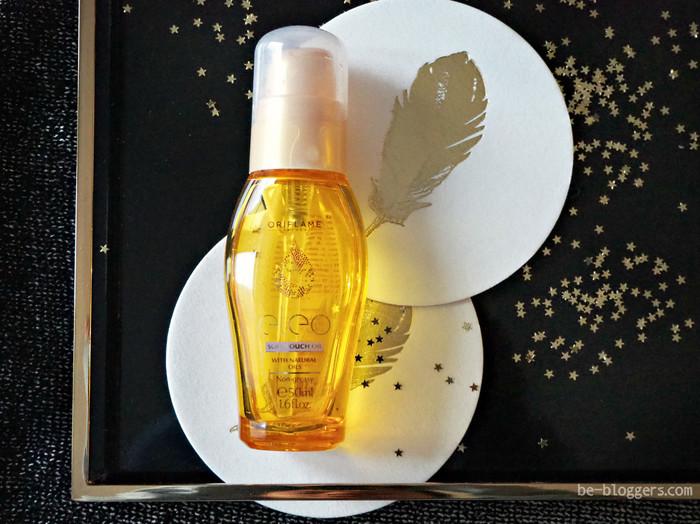 Питательное масло для волос против секущихся кончиков Oriflame Eleo, отзыв