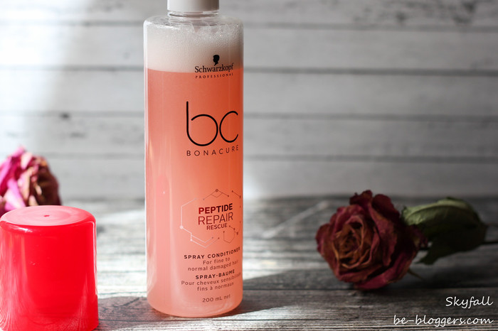 Спрей-кондиционер для волос BC Bonacure Peptide Repair Rescue Spray, отзыв