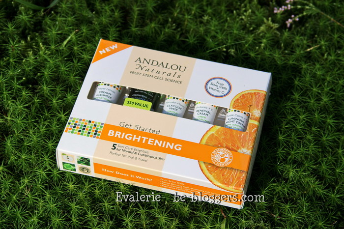Andalou Naturals Get Started Brightening Skin Care Essentials 5 Piece Kit otzyv