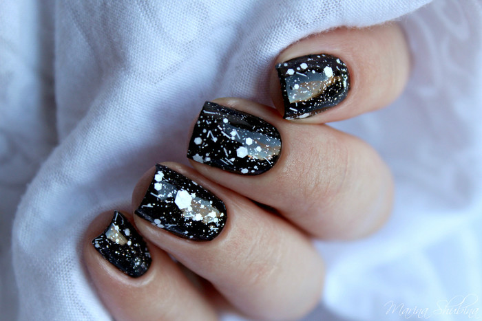 Golden Rose Carnival 01, Dance Legend Glitter Base Black, El Corazon Art Top Coat 421h/25