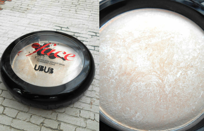 Пудра Ubub for face flawless bright skin powdery cake в оттенке 01, отзыв