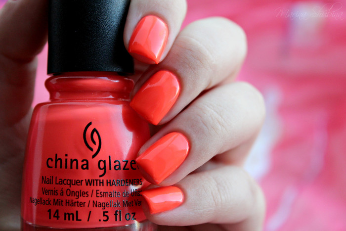 china glaze red-y to rave