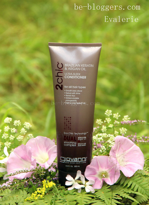 giovanni 2chic ultra sleek conditioner brazilian keratin argan oil otzyvy, магазин Айхерб