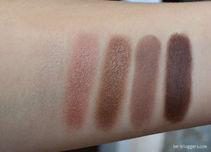 Wet n Wild Тени Для Век Color Icon Eye Shadow Palette, bare and beatiful, свотч