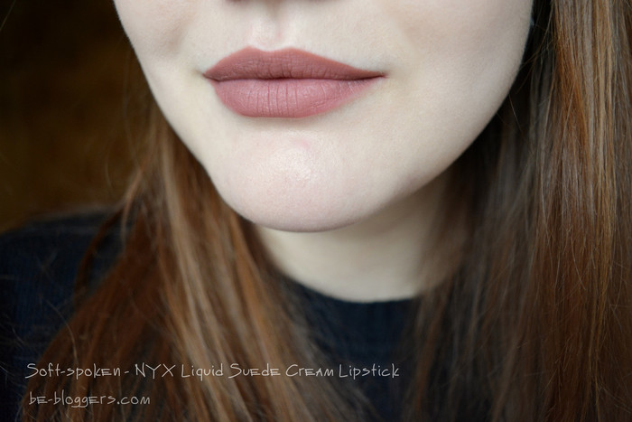 Soft-spoken NYX Liquid Suede