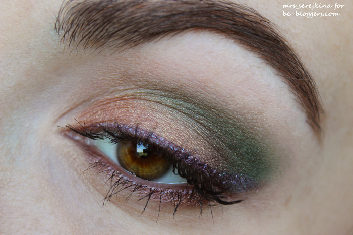 sleek garden of eden: make-up