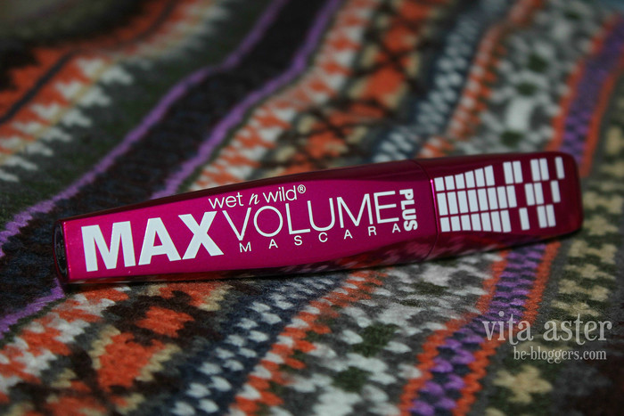 тушь wet n wild max volume plus mascara обзор