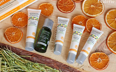 Здоровая кожа лица с andalou naturals get started brightening skin care essentials 5 piece kit