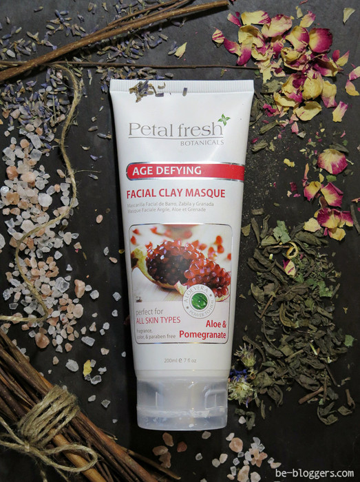 Petal Fresh, Botanicals Aloe & Pomeganate Clay Facial Masque, отзыв