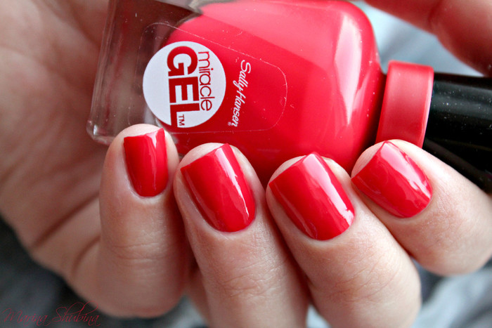 Sally Hansen Miracle Gel 470 Red Eye