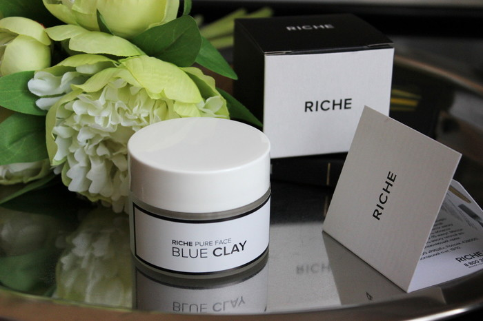 Riche Face mask blue clay