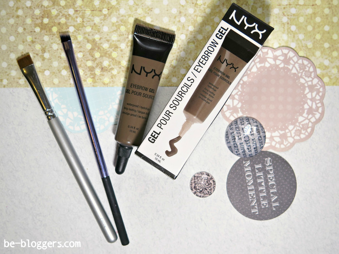 Гель для бровей. Eyebrow gel, Nyx, Brunette