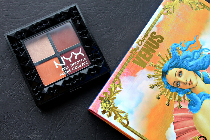 NYX Full Throttle Shadow Palette 08 Color Riot