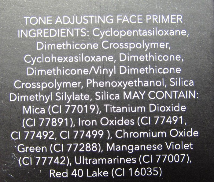 Tone Adjusting Face Primer состав