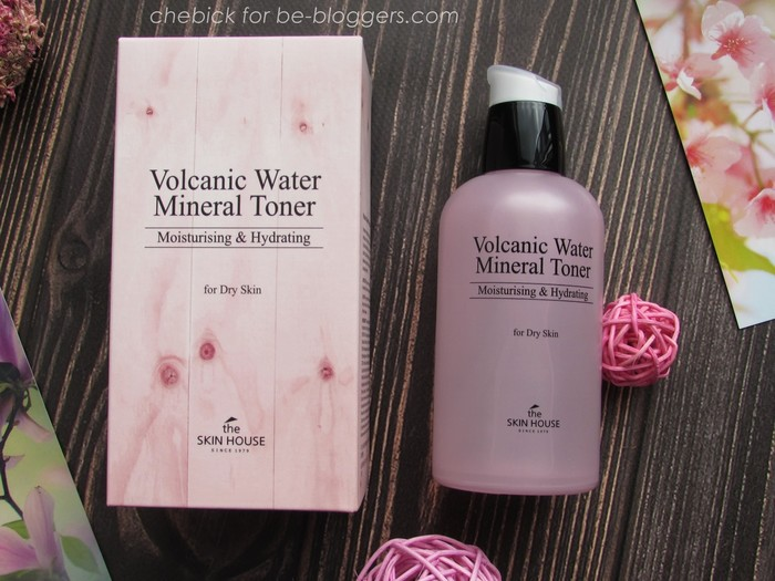 volcanic water mineral toner от the skin house: обзор