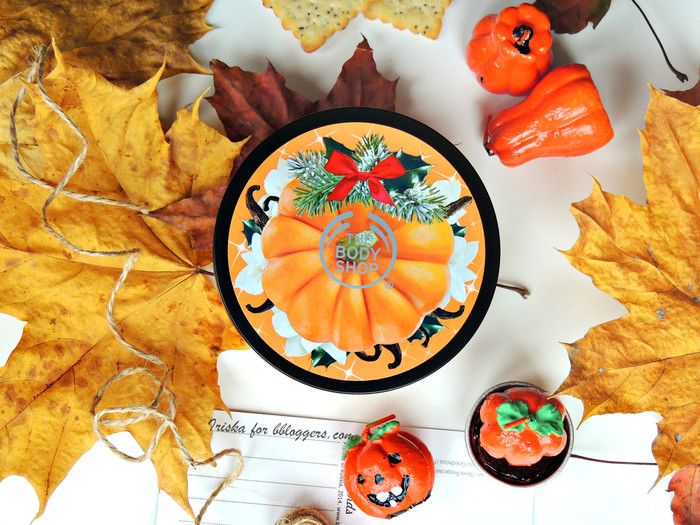 "The Body Shop масло для тела ""Тыква и Ваниль"" Vanilla Pumpkin, отзыв"