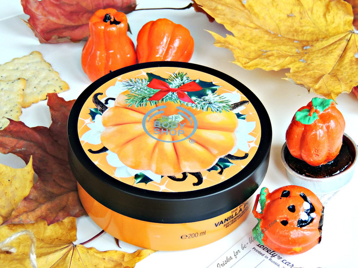 "The Body Shop масло для тела ""Тыква и Ваниль"" Vanilla Pumpkin"