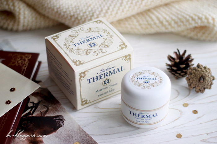 Secret Key Italian Thermal Moisture Cream, отзыв
