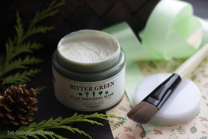 Skinfood Bitter Green Clay Soothing Mask, отзыв