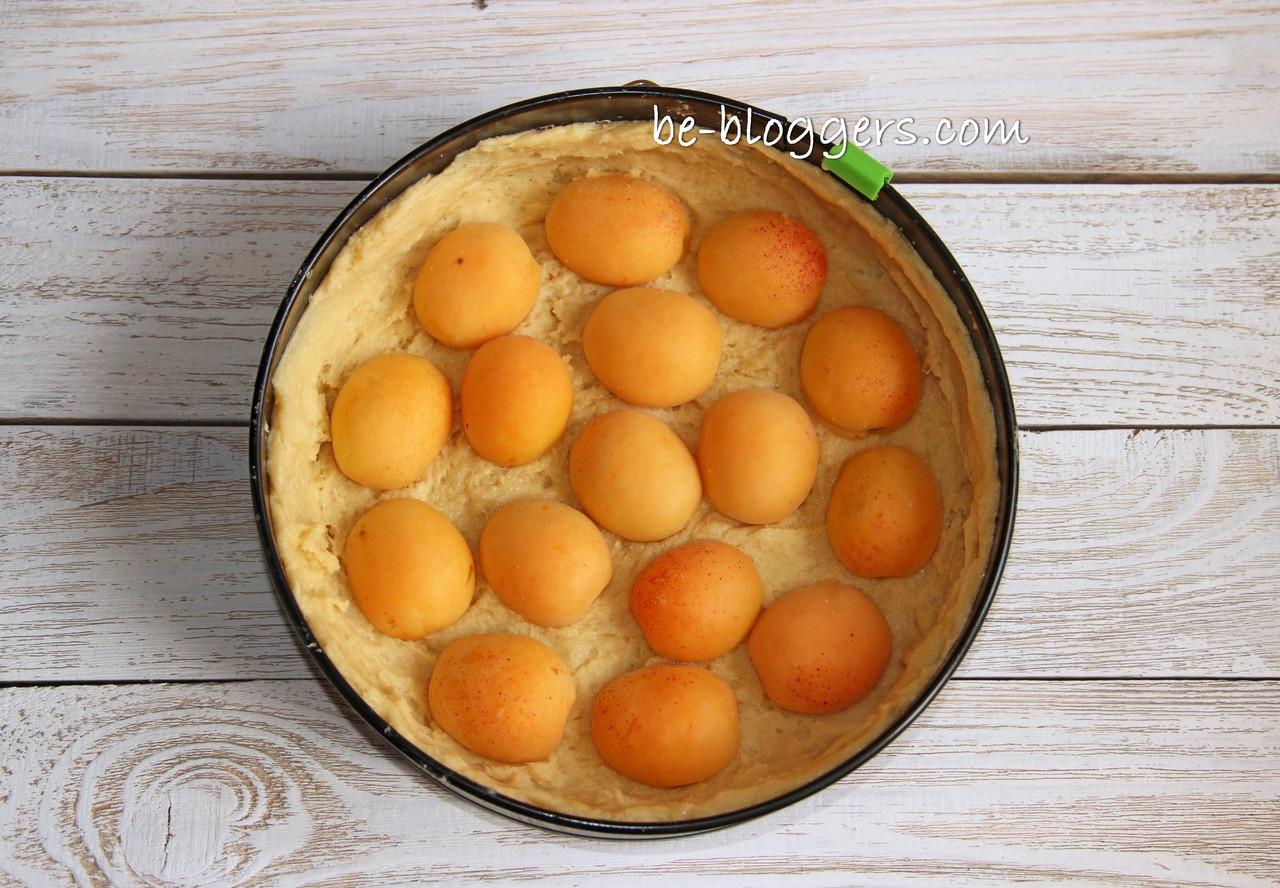 творожный пирог с абрикосами в мультиварке рецепты