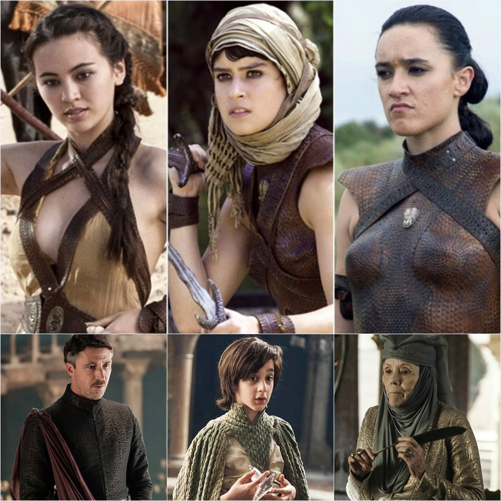 Hottest game of thrones girls