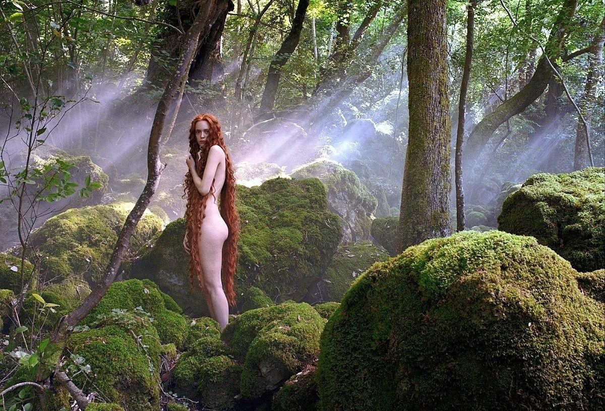 Сказочник девушка лес секс